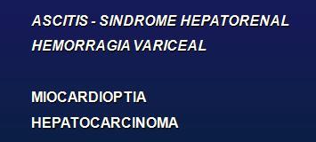 Hipertensión portal cirrosis biliar primaria